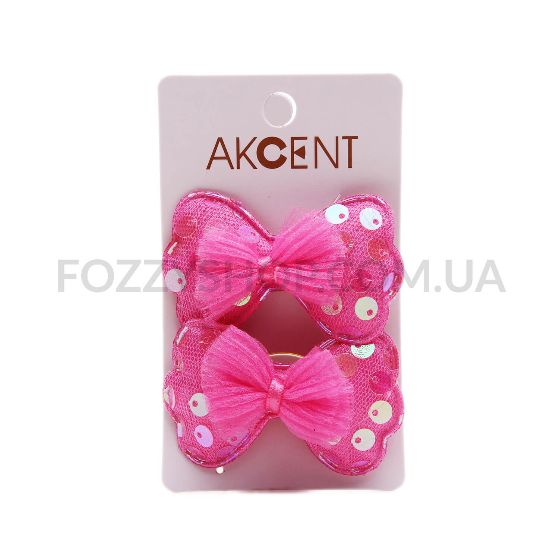 Набор для волос Akcent с пайетками детский 2шт N1505