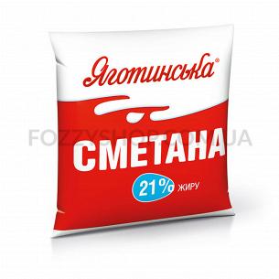 """Сметана """"Яготинське""""  21% п/э"""