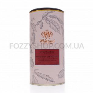 Шоколад гарячий Whittard білий зі смаком полуниці