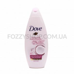 Гель для душа Dove Coconut milk