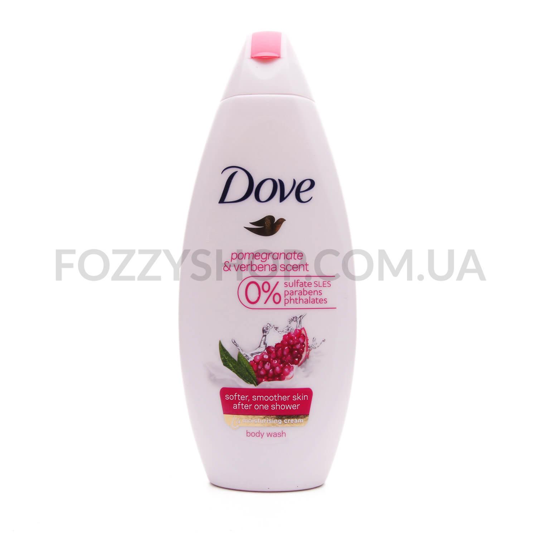 Гель для душа Dove Pomegranate&Lemon Verbena