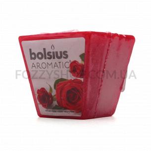 Свічка Bolsius Троянда арома квадратна 47/47мм
