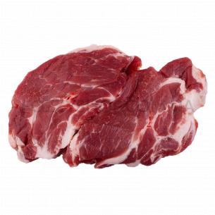 Свиной стейк из ошейка СУ
