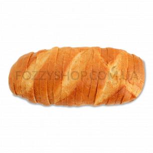 Батон Хліб Житомира Житомирский нарезной в упаковке