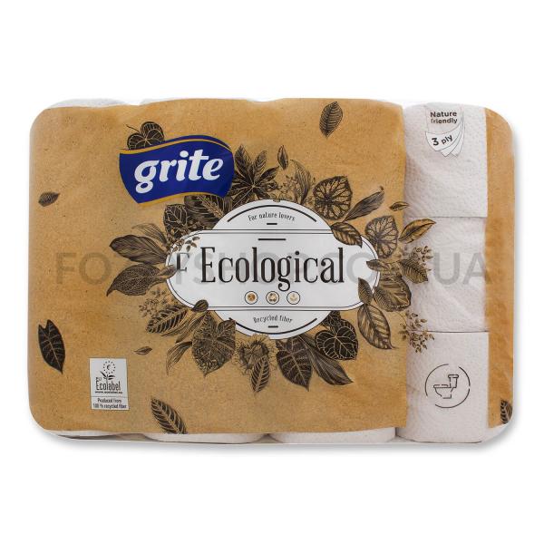 Бумага туалетная Grite Ecological