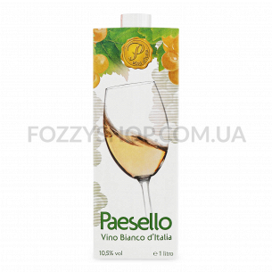 Вино Paesello Bianco