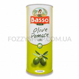 Масло оливковое Basso Помас ж/б