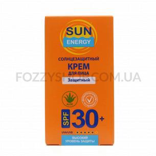 Крем для лица Sun Energy солнцезащитный SPF30