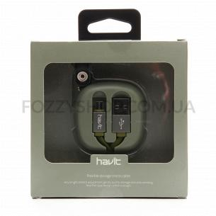Кабель зарядний Havit Flexible micro USB HV-H640