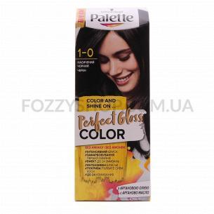 Крем-краска Palette Perfect Gloss Color 1-0 Насыщенный черний