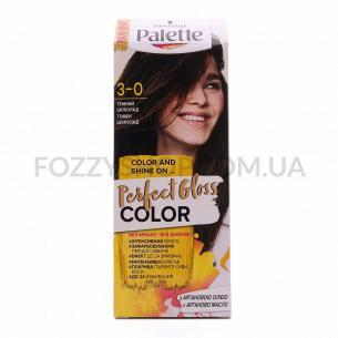Крем-фарба Palette Perfect Gloss Color 3-0 Темний шоколад
