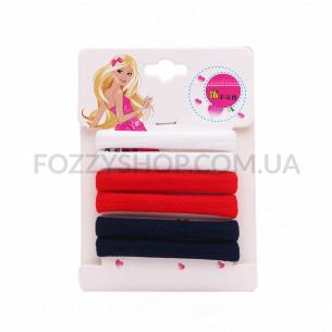 Набор резинок для волос Akcent Классик 6шт N5505-6