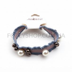 Резинка для волос Akcent с жумчужинками Р8558