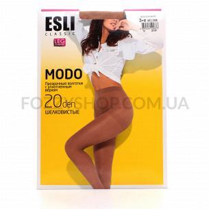 Колготки жіночі ESLI Modo 20 melone p.3 8С-39СПЕ