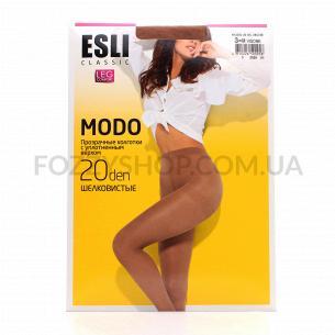 Колготки жіночі ESLI Modo 20 visone p.3 8С-39СПЕ