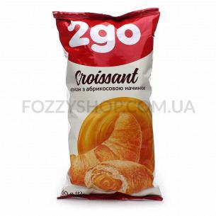 Круассан 2go с абрикосовой начинкой