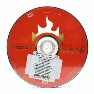 Диски DVD+R Videx 4,7GB bulk 10