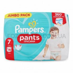 Подгузники-трусики Pampers Pants Jumbo 7 17+кг