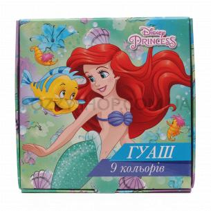 Фарба гуаш Тетрада Disney 9 кольорів