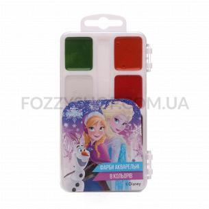Краски акварельные Тетрада Disney медовые 8 цветов