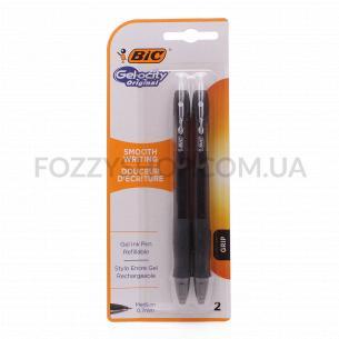 Ручки гелевые BIC Gel-ocity Original черные