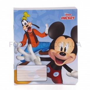 Зошит Тетрада Disney лінія УФ-лак 12 аркушів