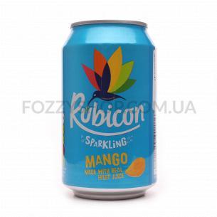 Напиток Rubicon Mango сильногазированный ж/б