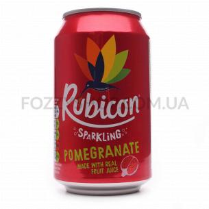 Напиток Rubicon Pomegranate сильногазированный ж/б
