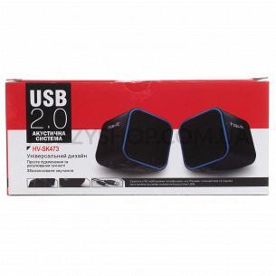 Колонки акустические Havit HV-SK473 USB синие