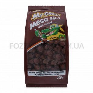 "MEGAшарики с какао ""Mr Croco"", 200 г"