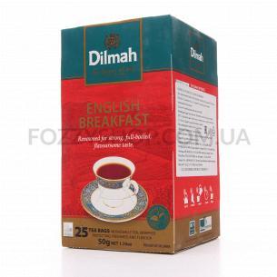 Чай чорний Dilmah Англійський сніданок