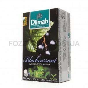 Чай чорний Dilmah з ароматом чорної смородини