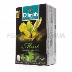 Чай чорний Dilmah з ароматом м`яти