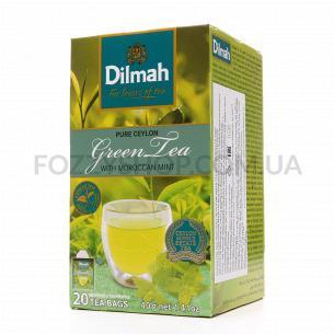 Чай зелений Dilmah Марокканська м`ята