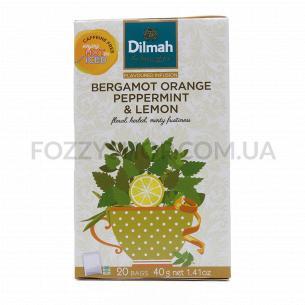 Смесь травяная Dilmah бергамот-апельсин-мята-лимон