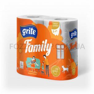 Папір туалетний Grite Family