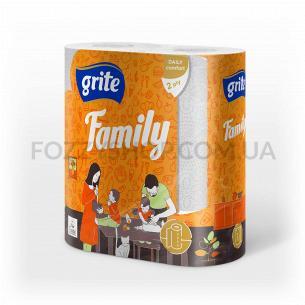Рушник паперовий Grite Family