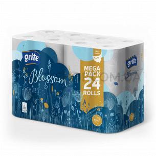 Папір туалетний Grite Blossom