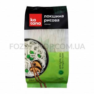 Лапша Katana рисовая тонкая