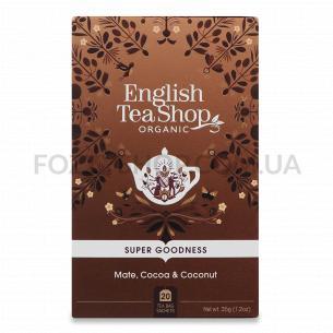 Суміш English Tea Shop мате-какао-кокос органічна
