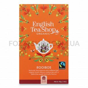 Чай English Tea Shop Ройбуш органический