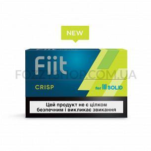 Изделие табакосодержащее для электрического нагрева Fiit Crisp