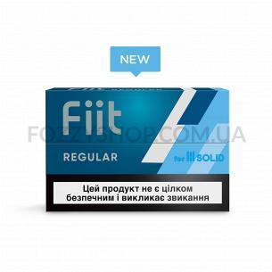 Изделие табакосодержащее для электрического нагрева Fiit Regular