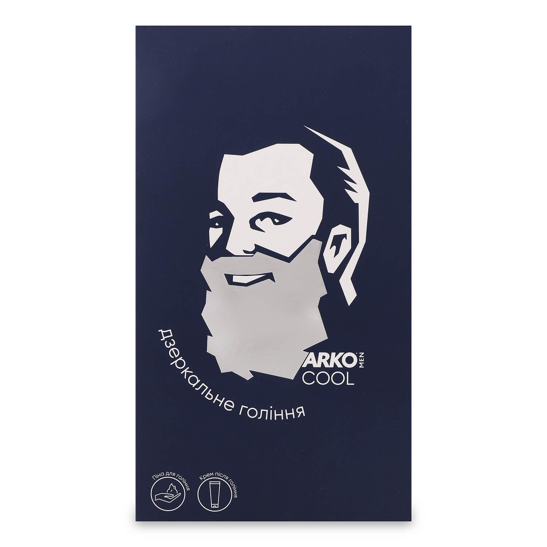 Набор ARKO Men Cool: пена для бритья 200мл + крем после бритья 50мл