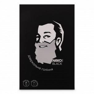 Набір ARKO Men Black: гель для гоління і вмивання 200мл + гель для душу і шампунь 2в1 260мл