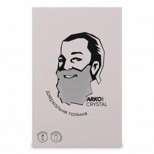 Набір ARKO Men Crystal: гель для гоління і вмивання 200мл + гель для душу і шампунь 2в1 260мл