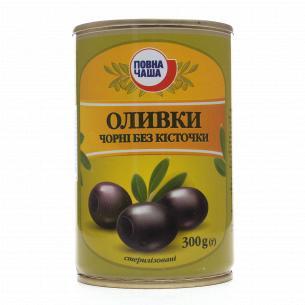 Оливки Повна Чаша чорні без...