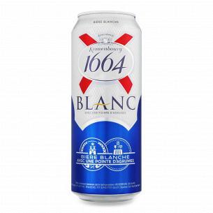 Пиво Kronenbourg 1664 Blanc світле нефільтроване ж/б