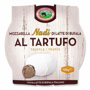 Сыр La Bella Contadina Моцарелла трюфель 52% из буйволиного молока