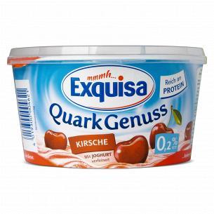 Десерт творожный Exquisa с вишней 0,2%
